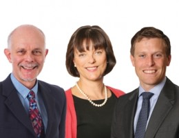 The Oxford promotions (left to right) Simon Mole, Chris Willett, Juliana Markeson, Christopher Rhodes and Kevin Ayrton.