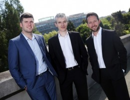 Naylors' new directors (left to right) Dean Clark, Phil Steadman and Simon Taylor.
