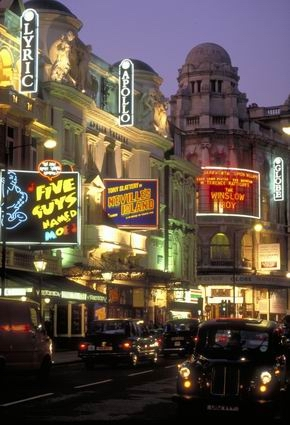 London town theatreland london s west london s for Time square londra