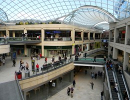 The new shopping centre will face stiff competition from the popular Trinity Leeds