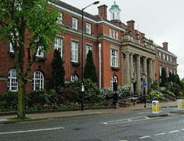 Nuneaton Town Hall: The council believes the property business will generate a sustainable income