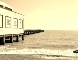 Photograph taken in Felixstowe, Suffolk, England May 2011