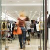 Photo of the Shoppers at shopping center motion blur