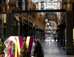 Victoria Quarter Leeds city centre West Yorkshire. UK