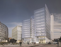 Indicative designs for 2 and 3 Angel Square