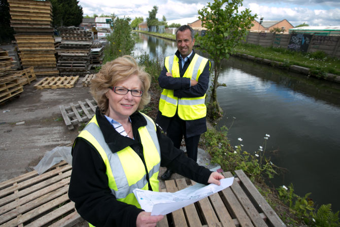 Work Starts On Waterways Trust's Second Tyseley Investment