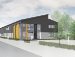 155 Milton North - DC Payments' new office at MEPC Milton Park in Oxfordshire (CGI)