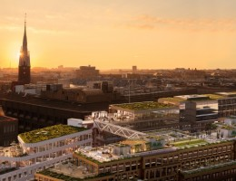 Urban Escape Stockholm innovative rooftop revealed for the first time