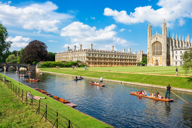 Cambridge Named Best Place for Growth in 2016