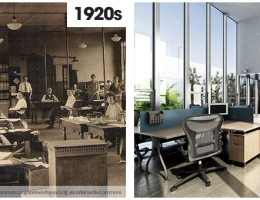 20th vs 21st century offices