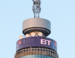 The BT tower on the open market