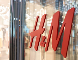 H&M Close Up Logo Bristol Cabot Circus