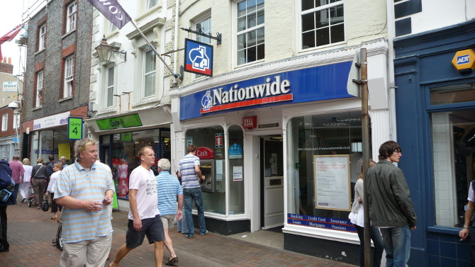 Nationwide Building Society In Gillingham High Street