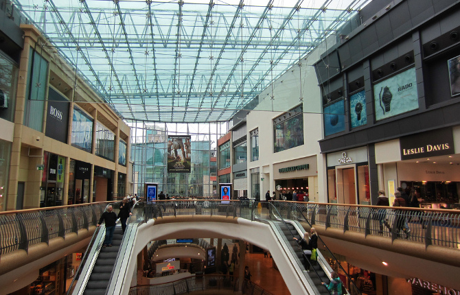 Bullring Shopping Centre Birmingham