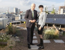 Wild-West-End-initiative-delivers-as-Broadcaster-Jon-Snow-launches-Regent-Street-Green-Roof