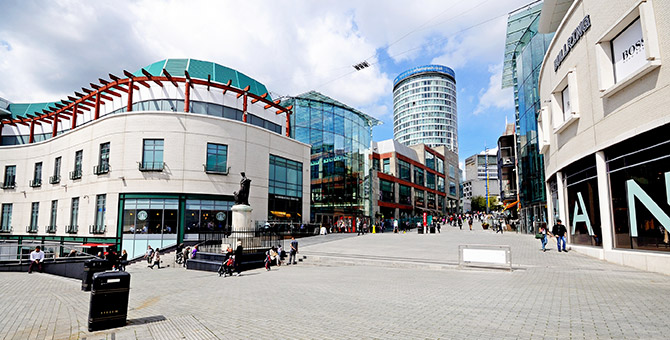 Hammerson's Birmingham Commitment Welcomed by Business Owners
